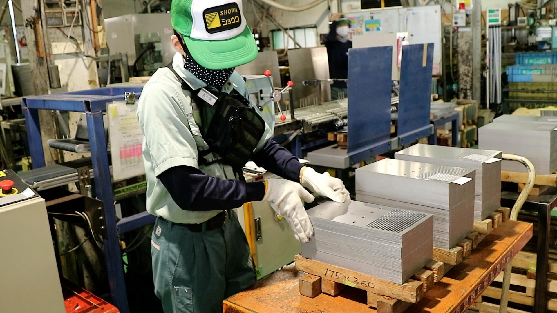 供給力の安定した生産体制